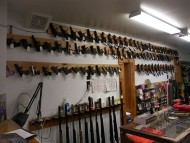 inside the Stone Gun Shop